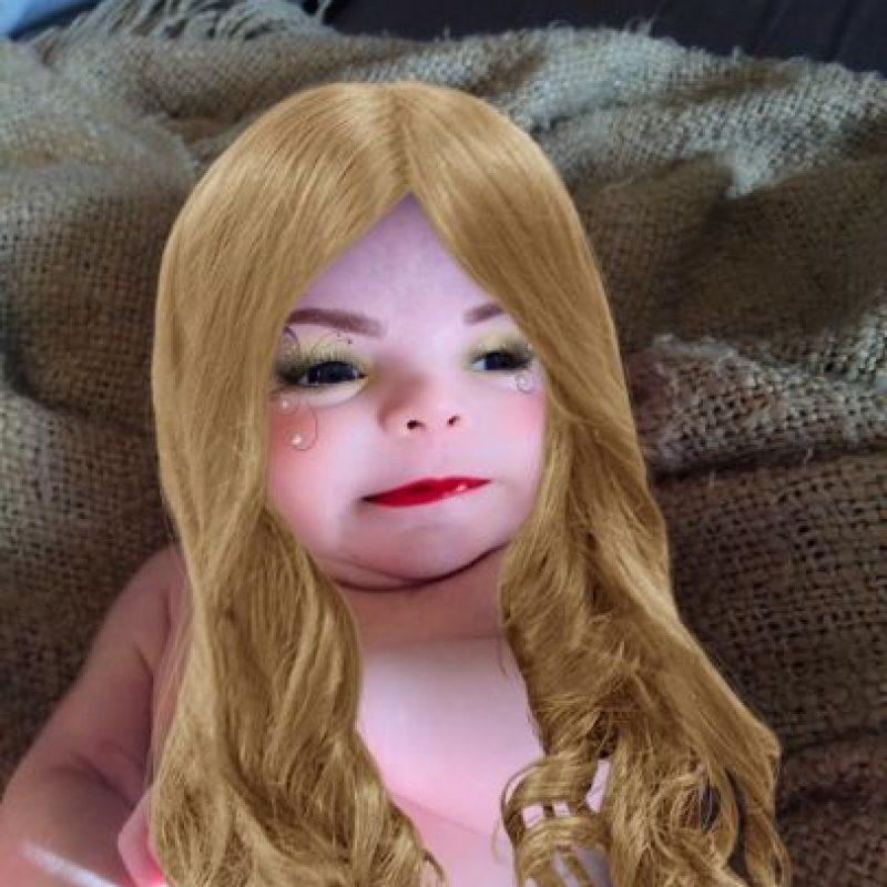 ¿Demasiado cabello para un bebé? Foto:Imgur/ Unicornreality