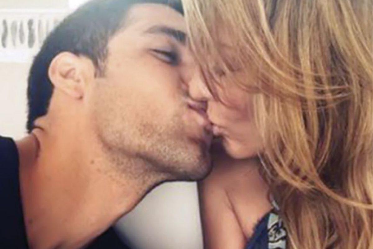 Fey junto a su ex novio, Lenny de la Rosa Foto:TVnotas.com