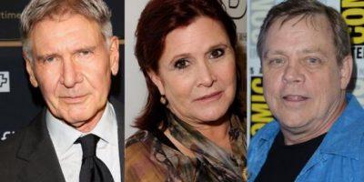 FOTOS. Han Solo, Leia y Luke Skywalker listos para debutar en el nuevo episodio