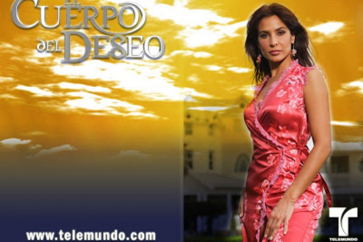 """En 2005, le dio vida a """"Isabel"""" en la producción de """"Telemundo"""", """"El cuerpo del deseo"""" Foto:Telemundo.com"""