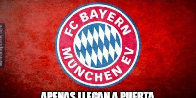 FOTOS: Se burlan del Bayern Múnich por su falta de gol en Champions