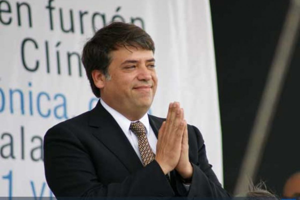 Edwin Escobar, alcalde de Villa Nueva. Foto:Publinews