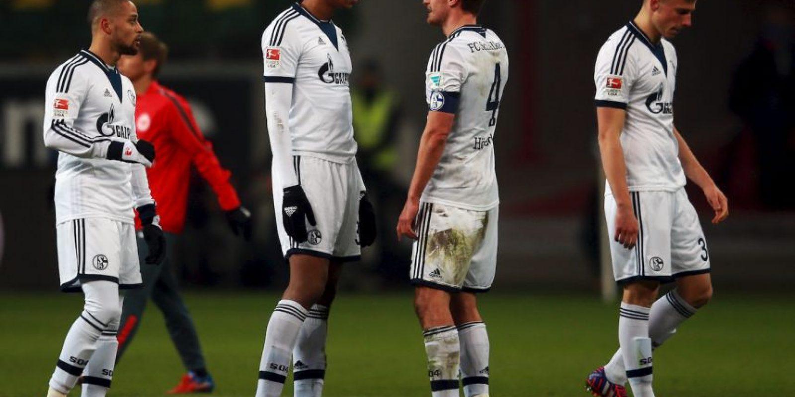 El Schalke 04 de Alemania Foto:Getty