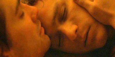 """Sexo en la tienda, en """"Brockeback Mountain"""" (2005). Luego de reprimirse por mucho tiempo, Ennis del Mar y Jack Twist tienen sexo por primera vez en su carpa. Foto:River Road Entertainment."""