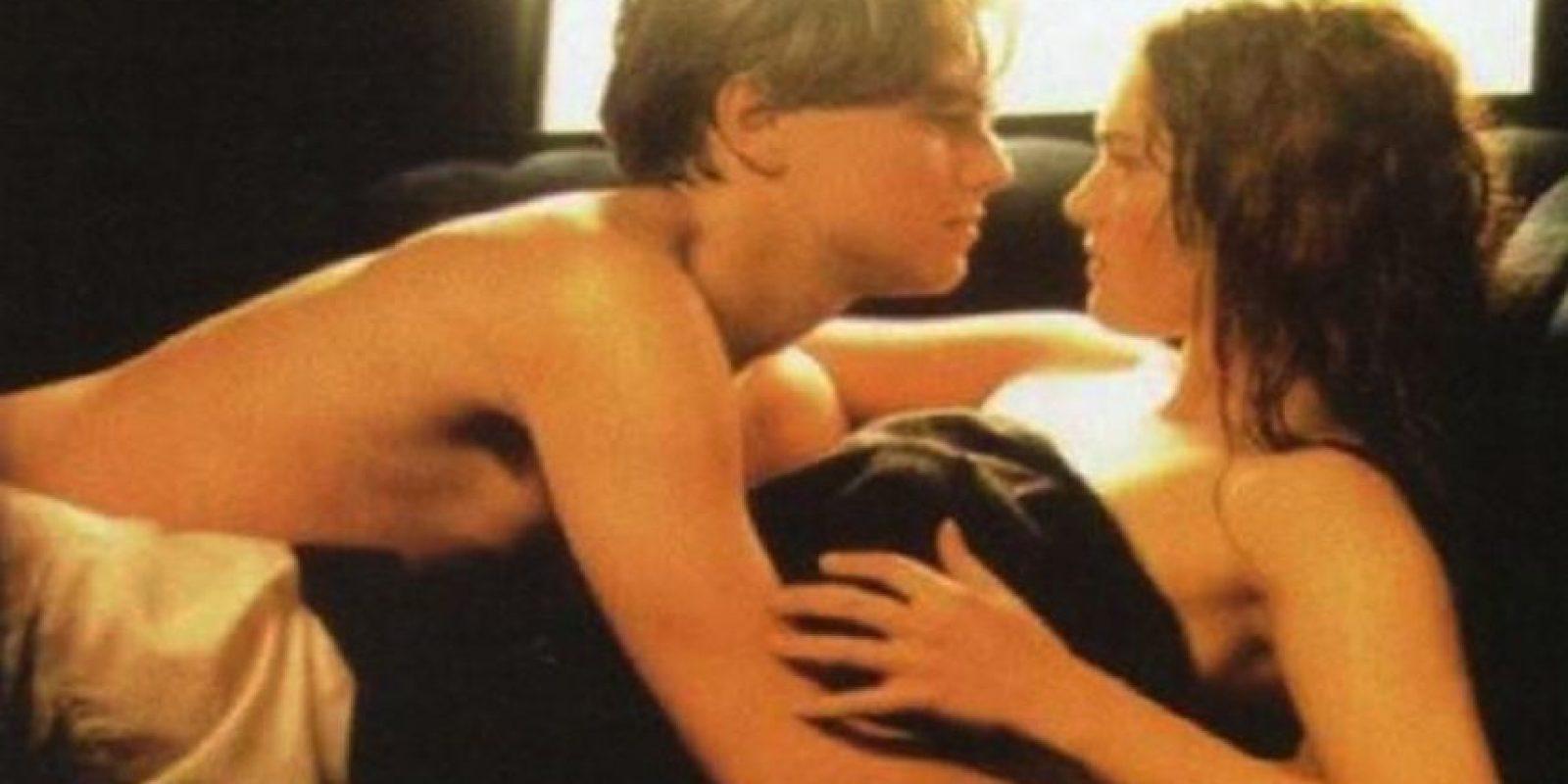 """La escena del auto de """"Titanic"""" (1997) Esa mano sudorosa es un ícono. Foto:Fox"""