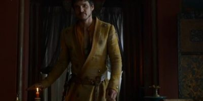 """Los portales y la rumorología apuntan al actor chileno Pedro Pascal, quien interpretó a Oberyn Martell, """"La Víbora Roja"""" en la serie. Foto:HBO"""