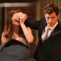 """""""Christian Grey es la imagen de lo lujurioso. Pero Jamie Dornan interpreta solo a un tipo"""" The New York Times Foto:Universal"""