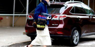 """El look """"homeless"""" hizo las fantasías de Mugatu realidad Foto:Vogue"""