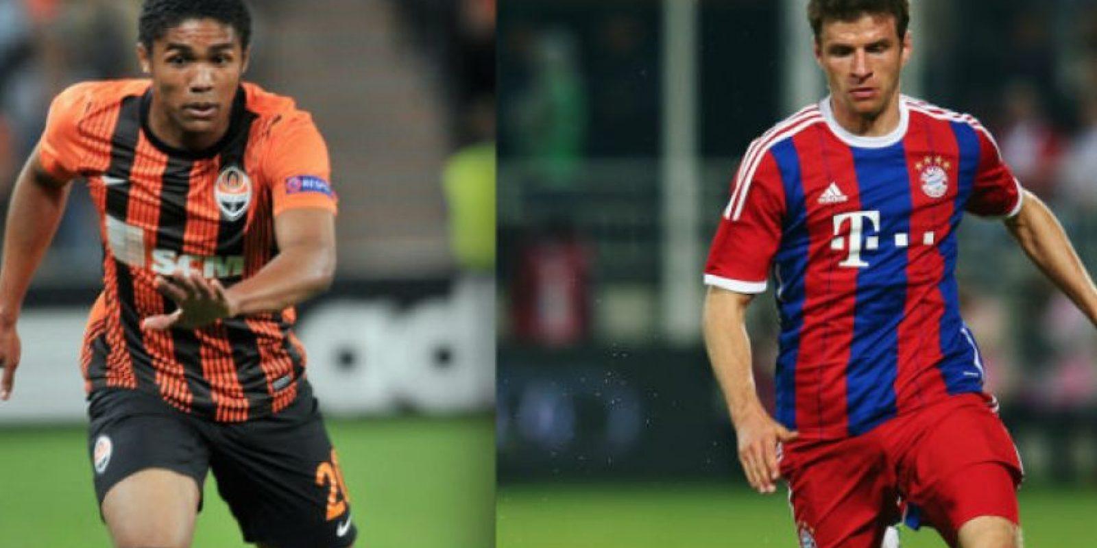 Shakhtar y Bayern se enfrentan en el inicio de los octavos de final. Foto:Getty Images