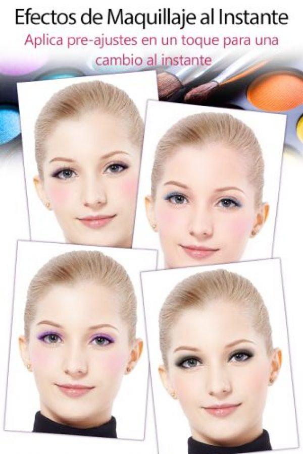 """Esta es la app """"YouCam Makeup"""" Foto:Google Play"""