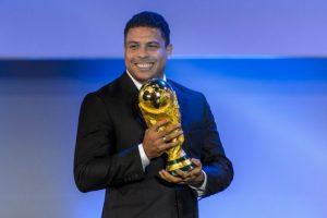 Un momento gracioso en su visita a Nueva York compartió Ronaldo en su cuenta en Instagram. Foto:AFP
