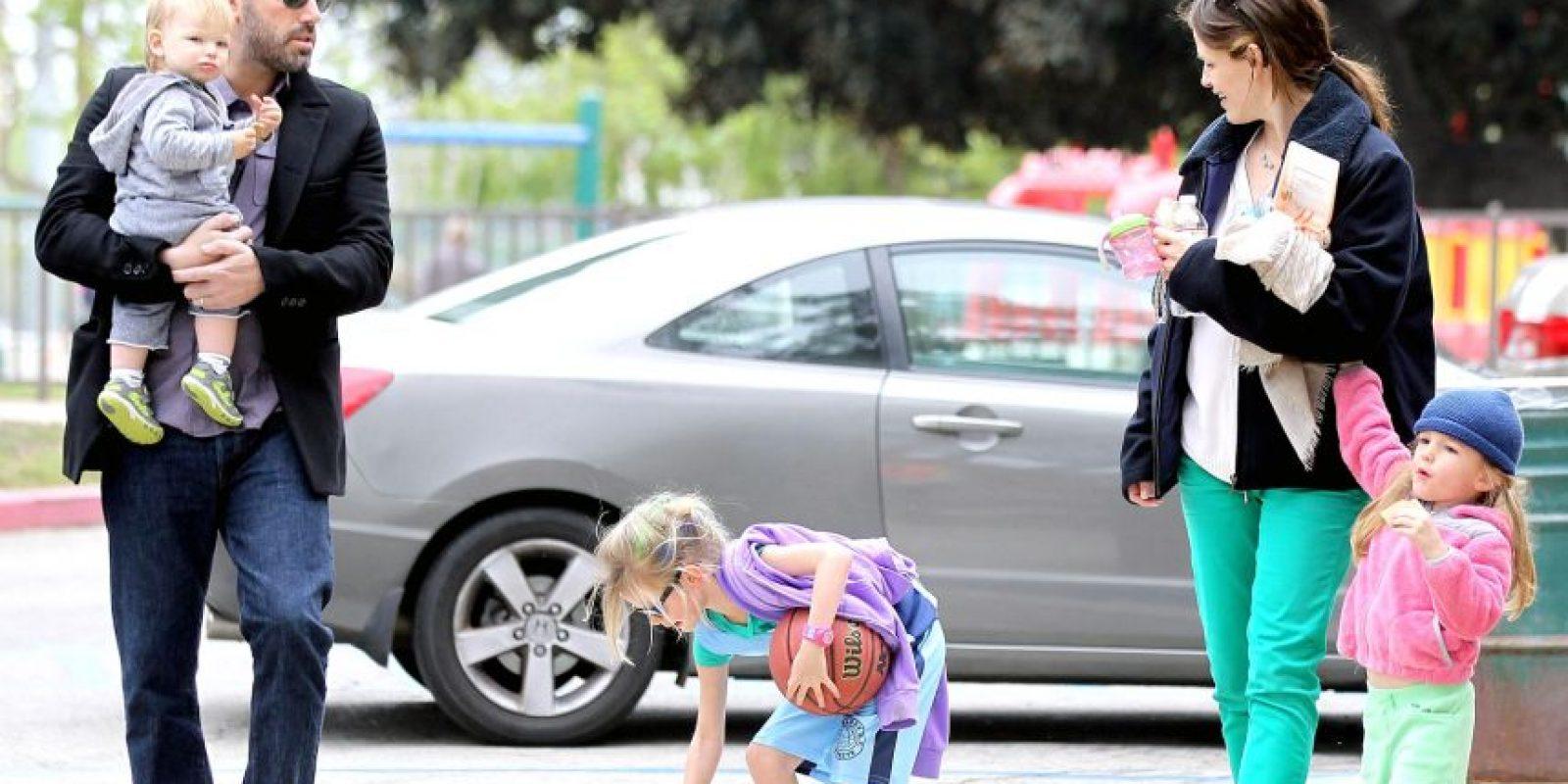 Ben Affleck y Jennifer Garner Foto:Agencias