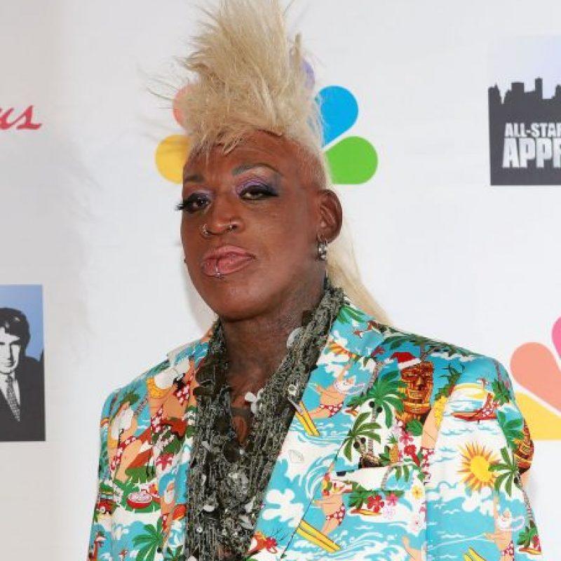 Rodman ha tenido varios incidentes de violencia doméstica, escándalos sexuales y vestirse de una forma extravagante. Foto:Getty Images