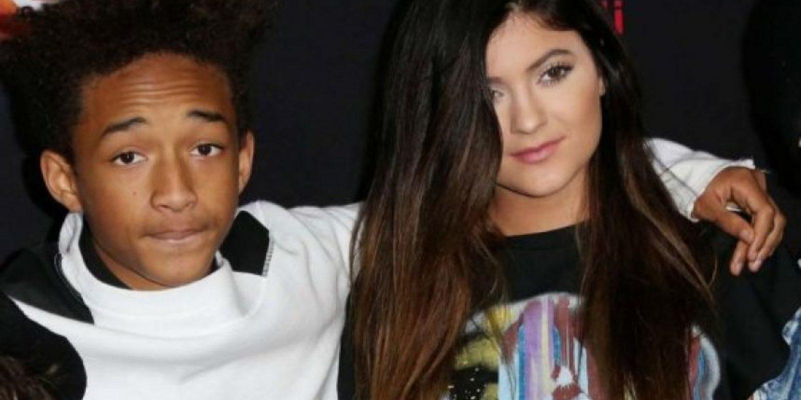Jaden Smith y Kilye Jenner Foto:Agencias