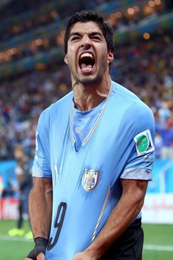 Luis Suárez, futbolista uruguayo. Foto:Getty Images