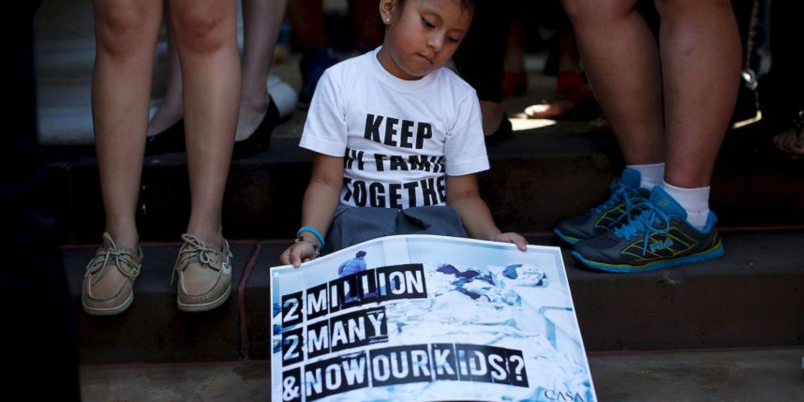3. El pasado 20 de diciembre Obama anunció su plan de inmigración. Foto:Getty