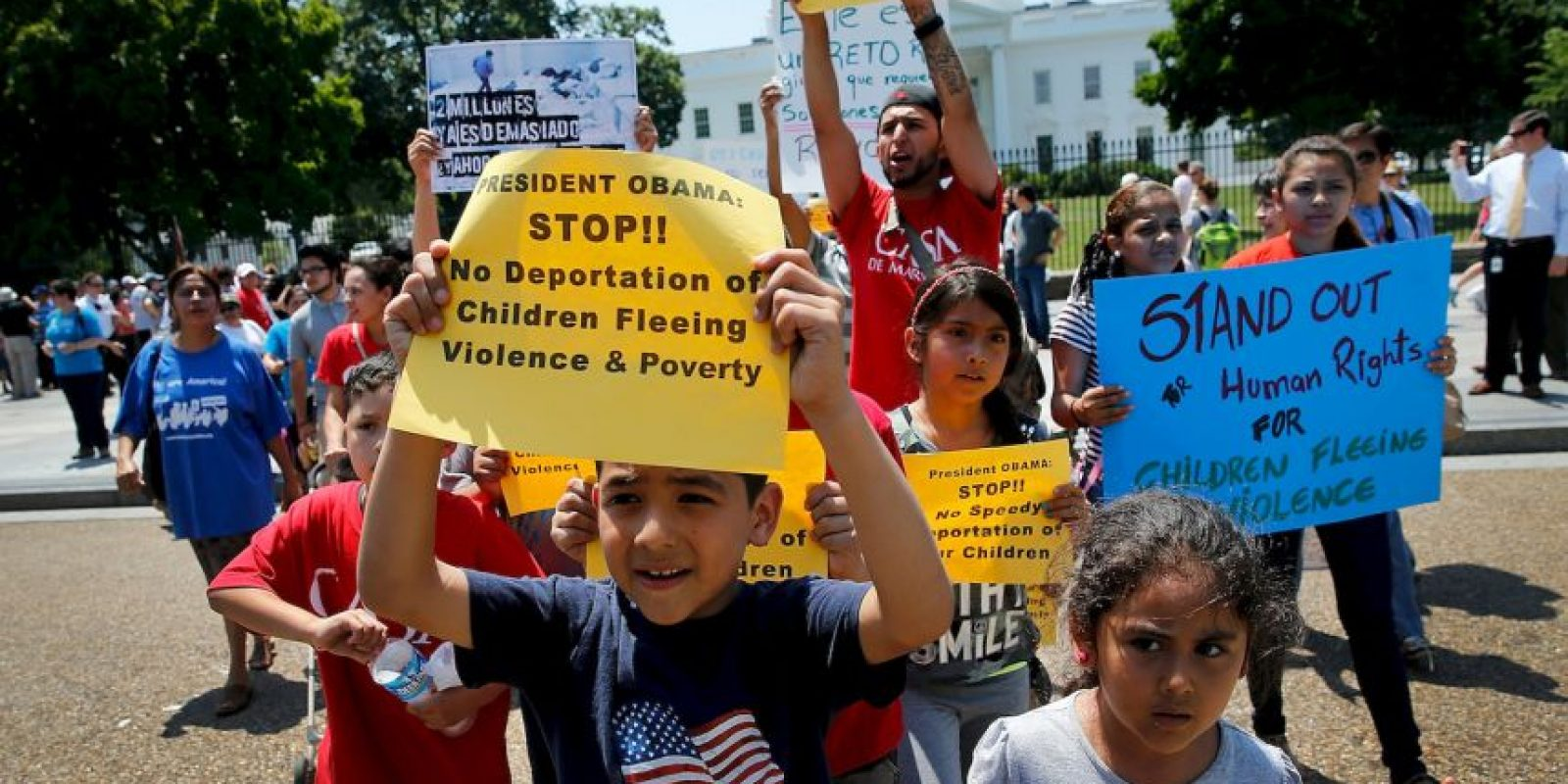 6. La paralización de la puesta en vigor de las medidas propuestas por Obama se deben a una demanda de 26 estados. Foto:Getty