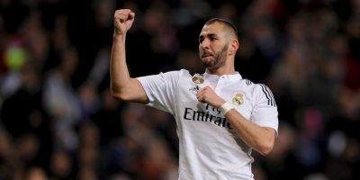 El tridente merengue: Karim Benzema Foto: Getty