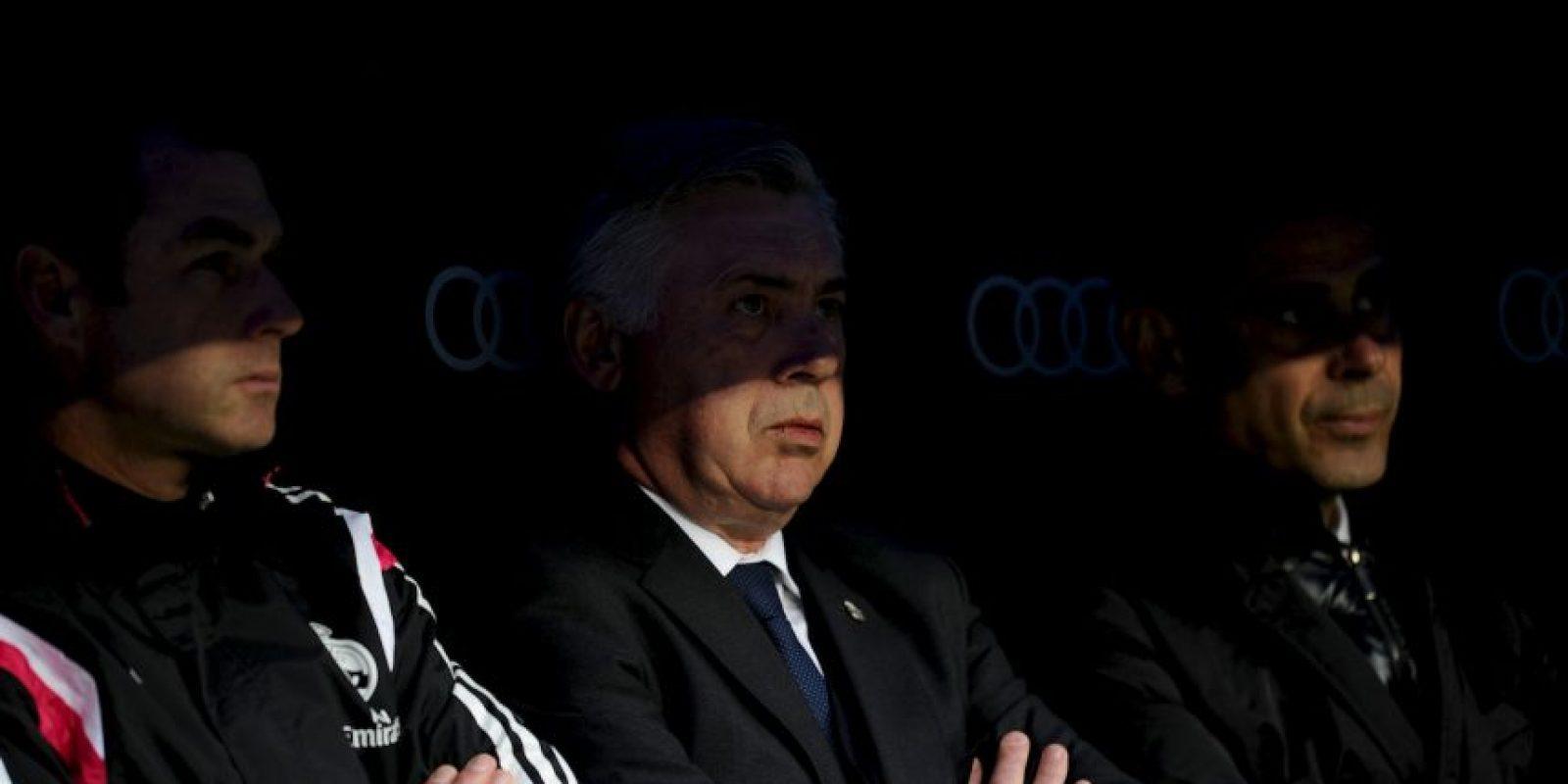 Carlo Ancelotti y su Madrid son los actuales monarcas de la Champions Foto:Getty