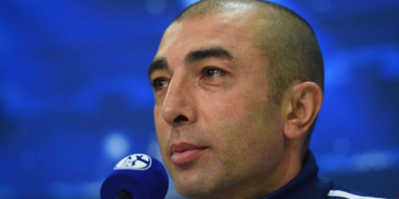 El DT del Schalke ganó la Champions con el Chelsea en 2012 Foto:Getty