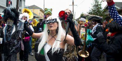 En la página oficial del evento se destaca que el carnaval inició en 1718, establecido por el explorador francés-canadiense Jean Baptiste Le Moyne. Foto:Getty
