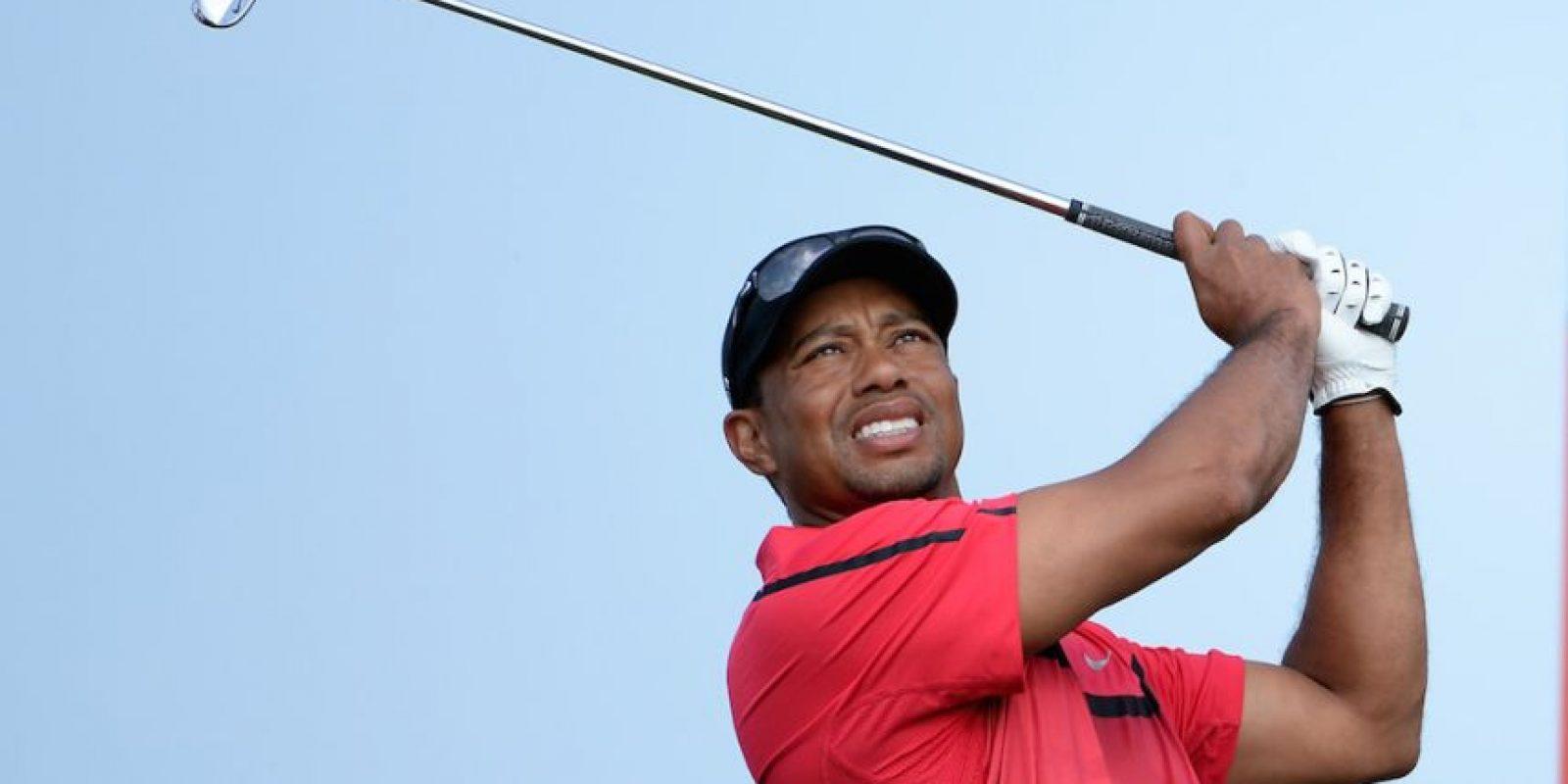 Tiger Woods, golfista estadounidense. Foto:Getty Images