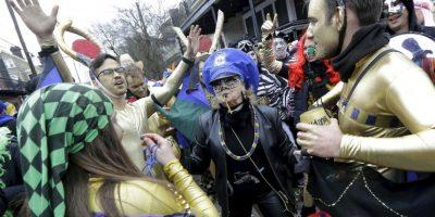 El primer Mardi Gras se llevó a cabo en 1857. Foto:AP