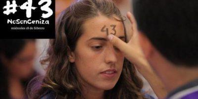 México: #43NoSonCeniza, así protestan por los estudiantes desaparecidos