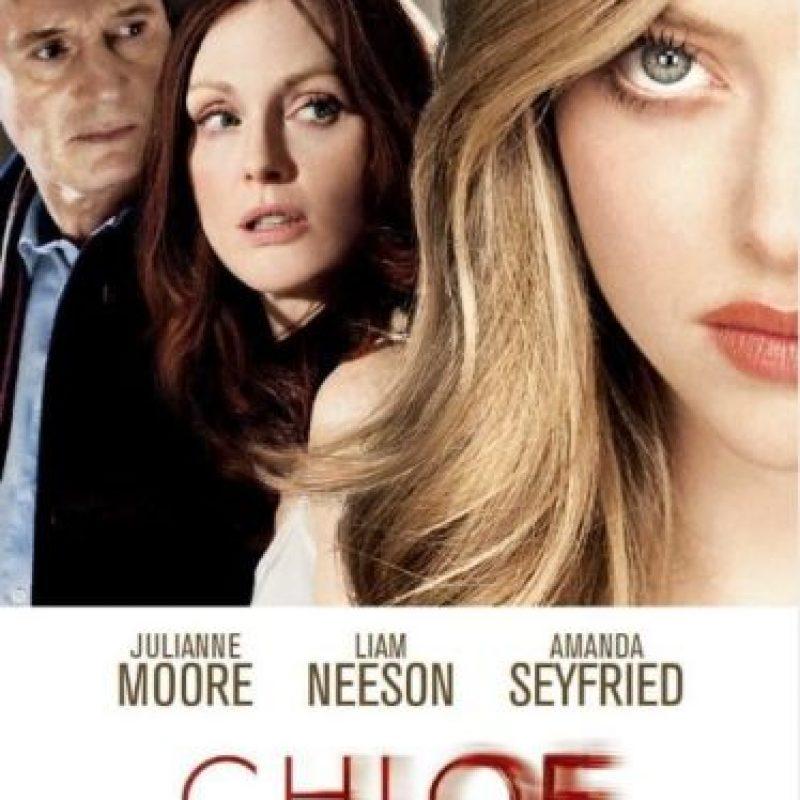 Catherine (Julianne Moore) es una doctora con un matrimonio fallido, ante el temor de ser engañada, contrata a Chloe (Amanda Seyfriend) para que conquiste a su marido. Todo cambia cuando ambas se enamoran e inician un apasionado romance. Foto:Amazon