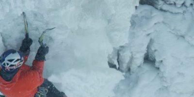 Mira las mejores imágenes de la histórica escalada de Will Gadd: Foto:Red Bull