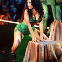 En agosto de 2014, un bailarín de Minaj sufrió un accidente Foto:Getty Images