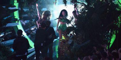 Minaj preparaba su presentación para los premios MTV VMA's 2014 Foto:Getty Images
