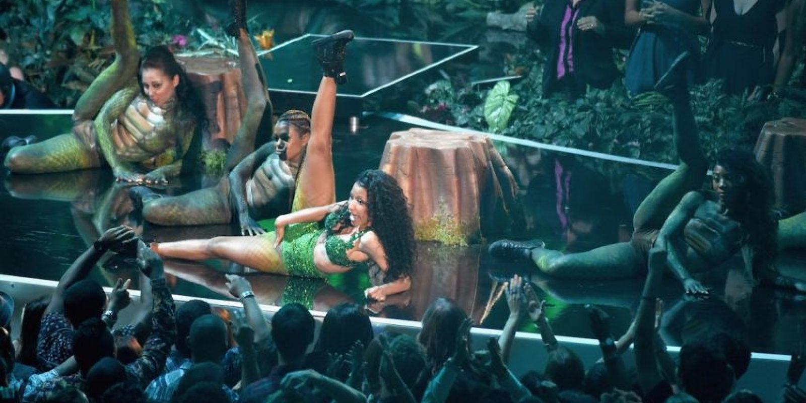 Y el show continuó de esta manera. Foto: Getty Images