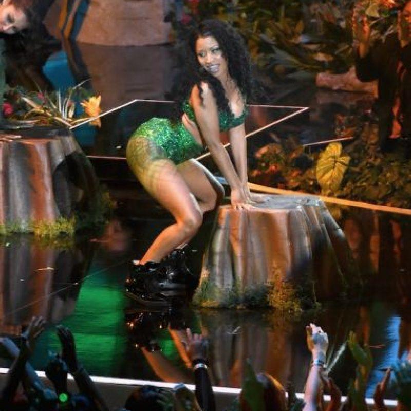 "Nicki Minaj en el performance de ""Anaconda"" Foto:Getty Images"