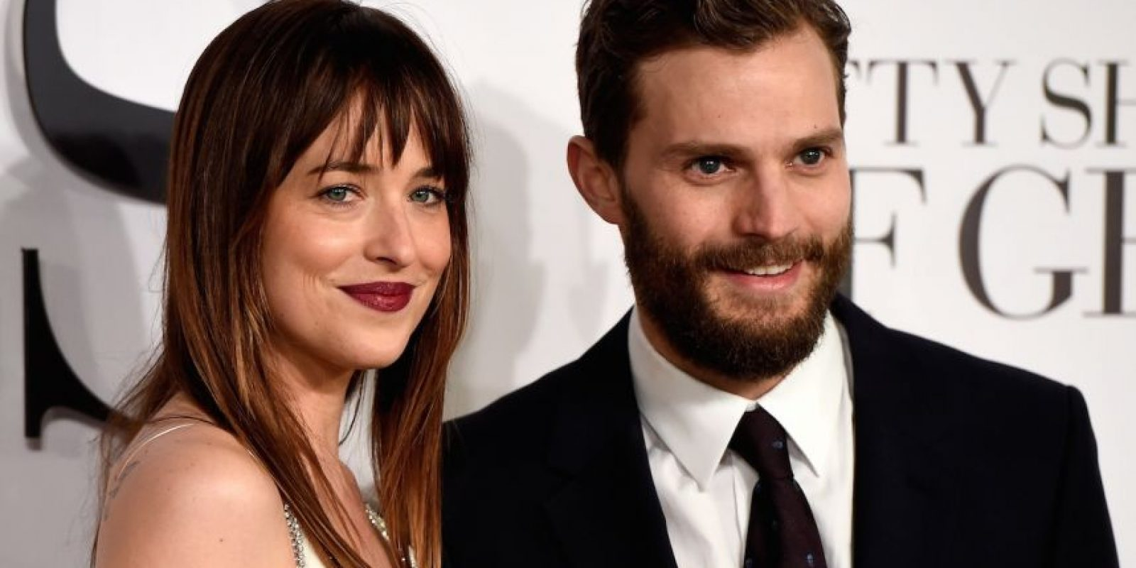 Dakota Johnson y Jamie Dornan Foto: Getty Images