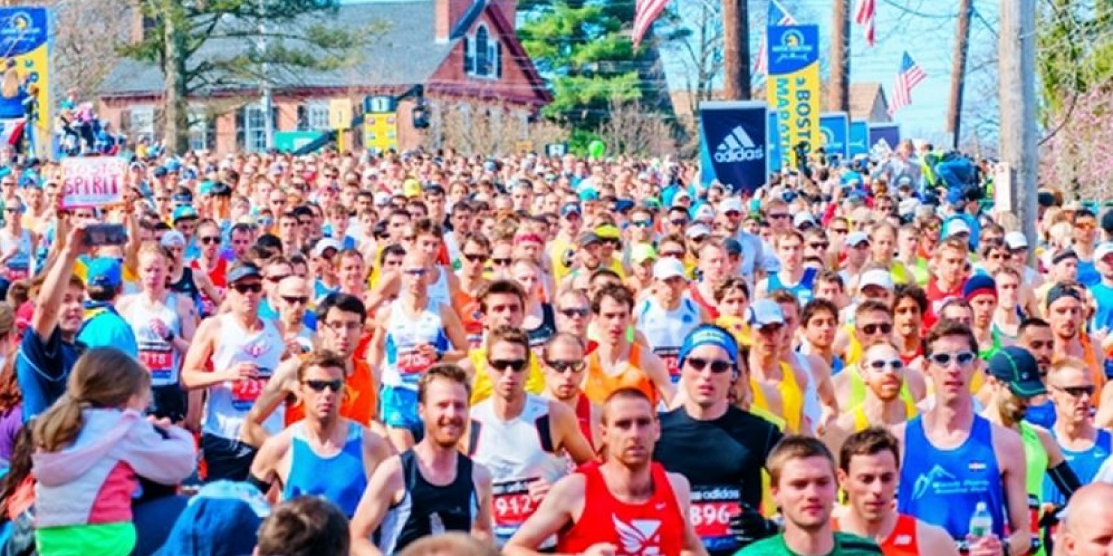 El Maratón de Bostón se celebra a mediados de abril Foto:Baa.org