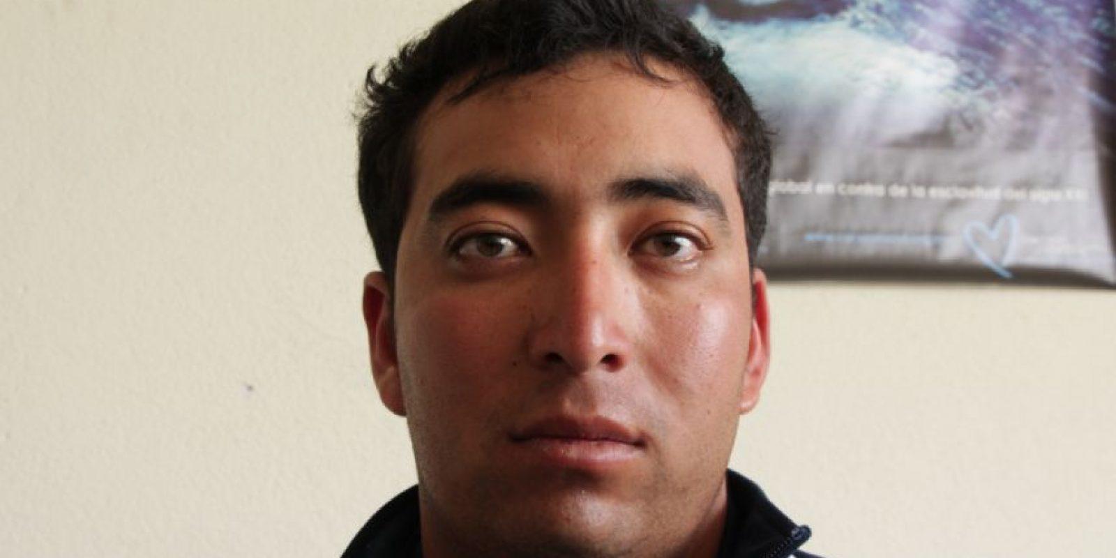 GERSON SOMOSA DE 24 AÑOS Foto:PNC