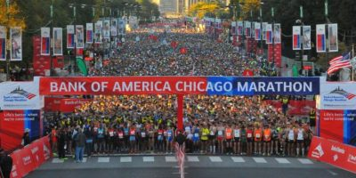 Maratón de Chicago Foto:Chicagomarathon