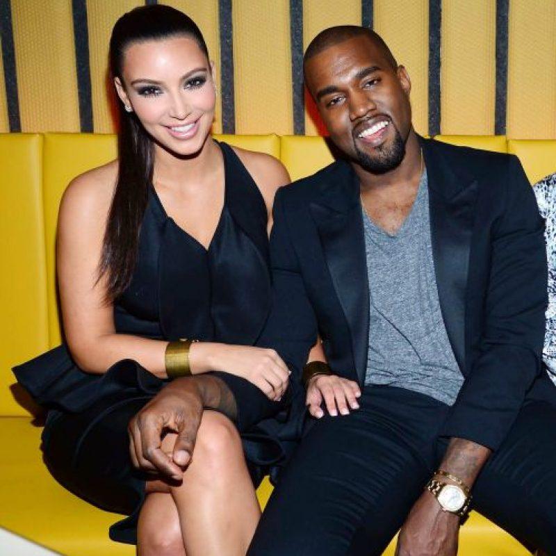 Kanye West y Kim Kardashian Foto:Agencias
