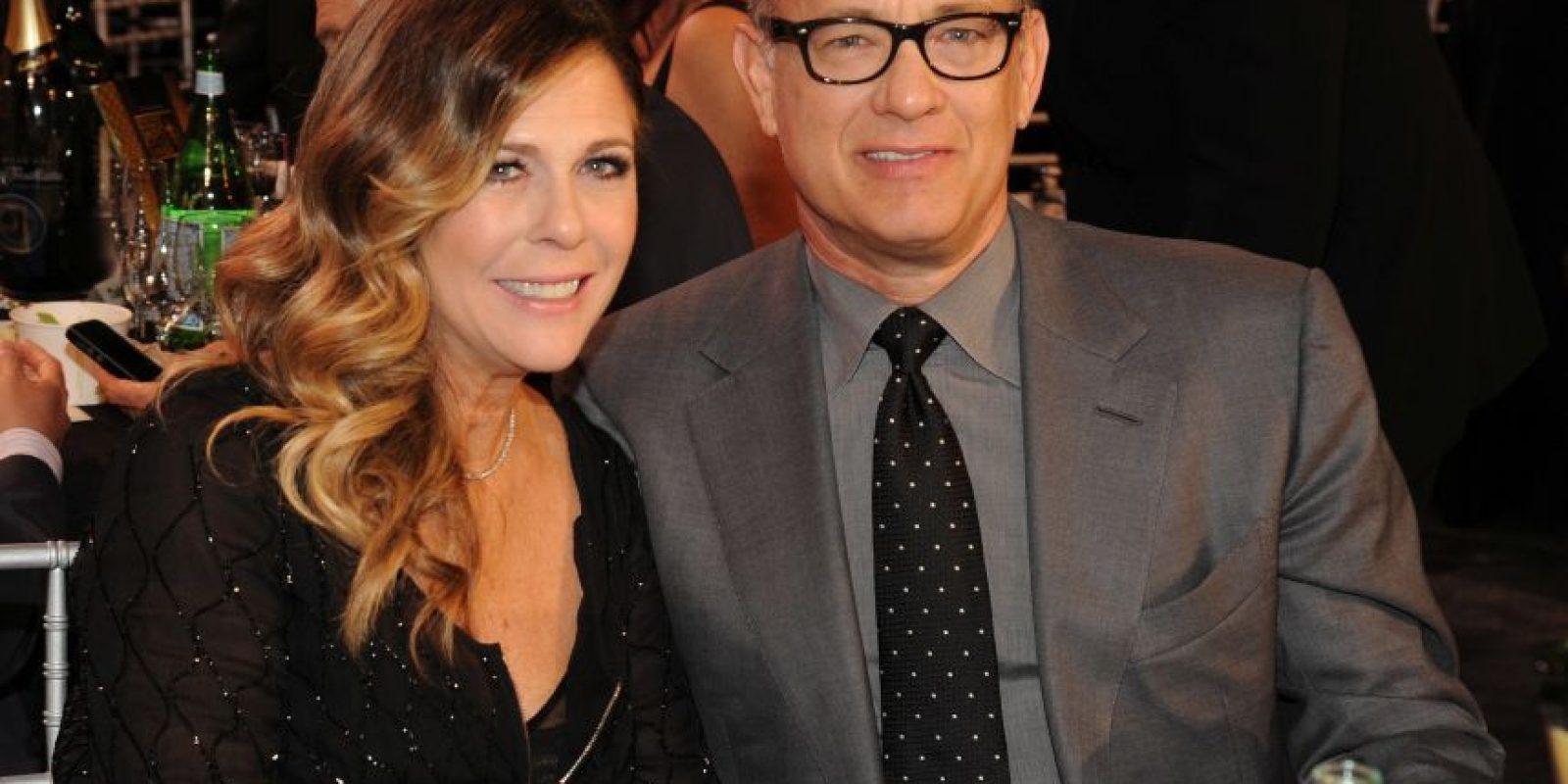 Tom Hanks y Rita Wilson Foto:Agencias