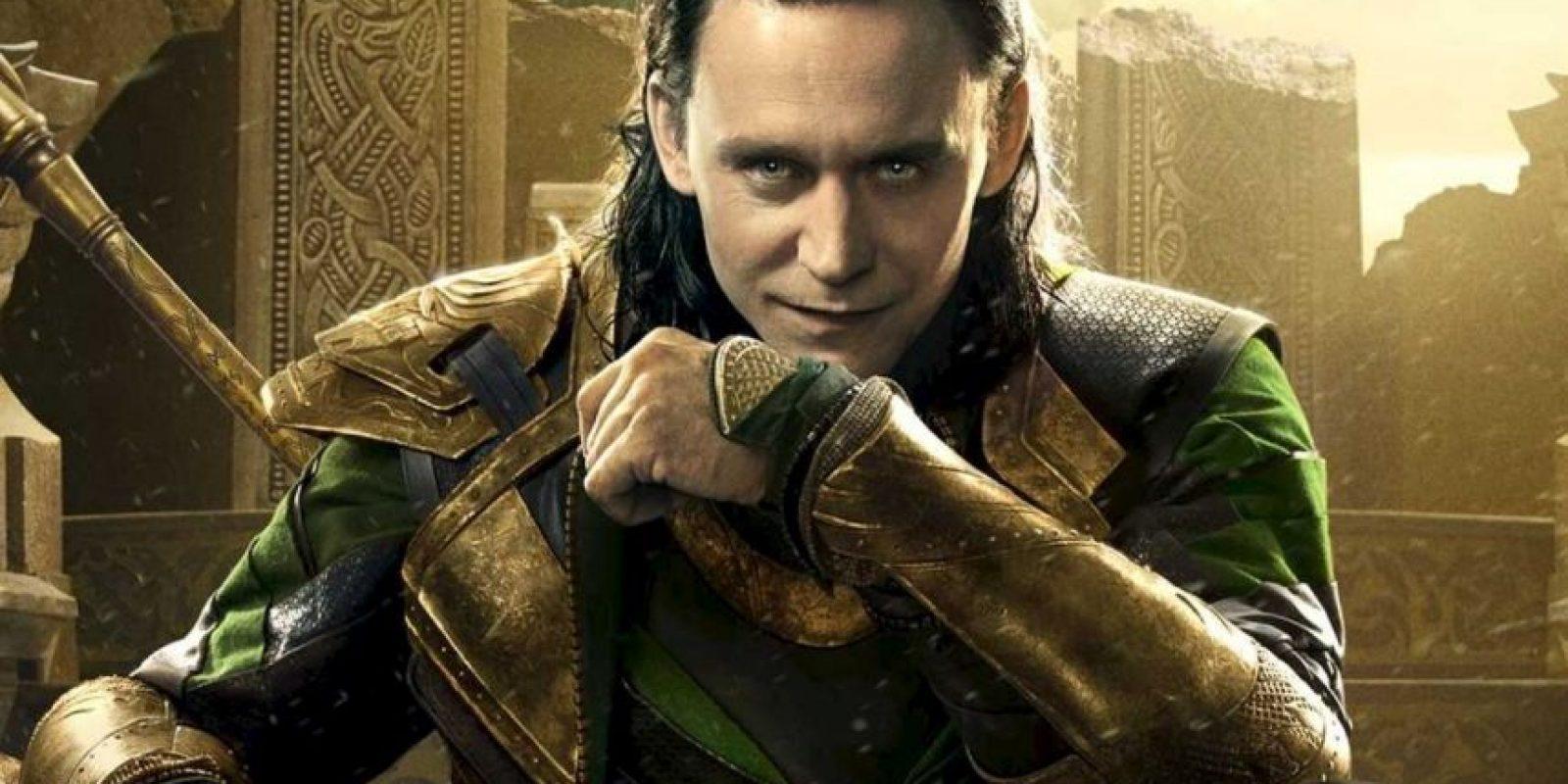 """Loki, de """"Thor"""" y """"Los Vengadores"""" Foto:Marvel"""