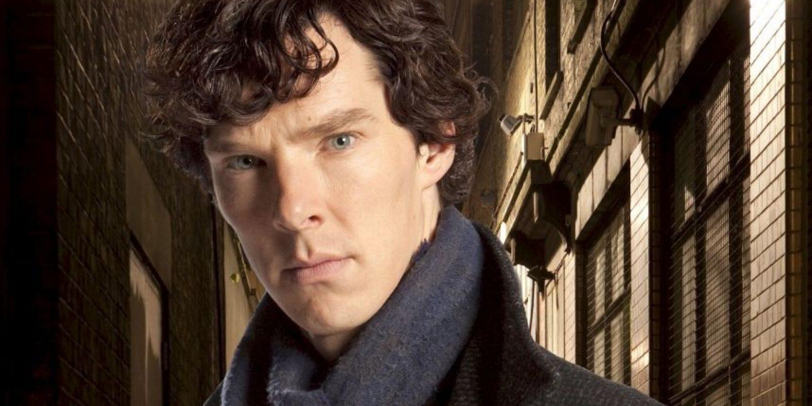 """Benedict Cumberbatch interpreta a """"Sherlock Holmes"""" en """"Sherlock"""" Foto:BBC"""