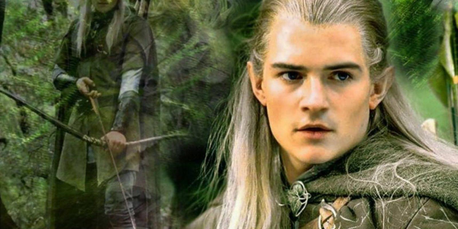 """Legolas, interpretado por Orlando Bloom en """"El Señor de los Anillos"""" Foto:New Line Cinema"""