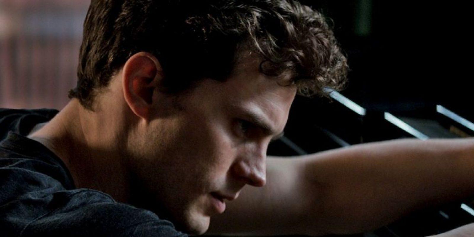 """Christian Grey, interpretado por Jamie Dornan en """"50 sombras de Grey"""". Foto:Universal"""