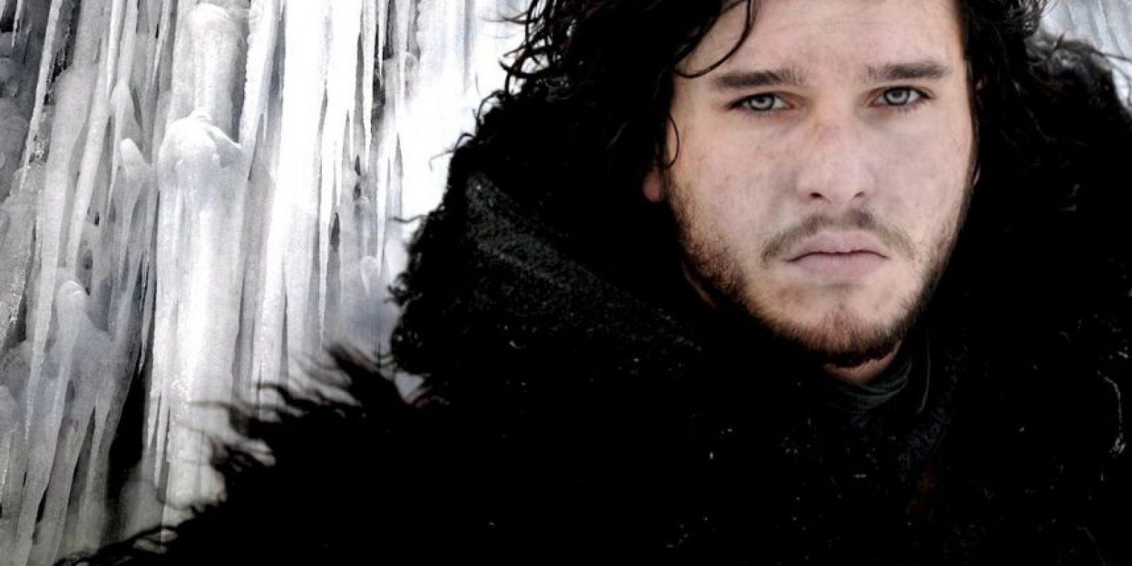 """Jon Snow, interpretado por Kit Harington. Es uno de los personajes principales en """"Game of Thrones"""" Foto:HBO"""