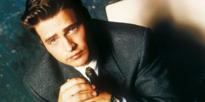 "Jason Priestley era el popular Brandon Walsh en ""Beverly Hills 90210"" Foto:Fox"