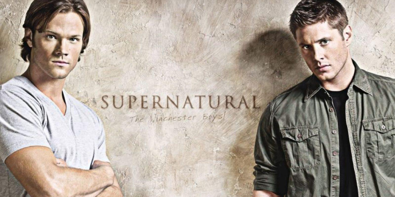 "Sam y Dean Winchester de ""Supernatural"" Foto:CW"