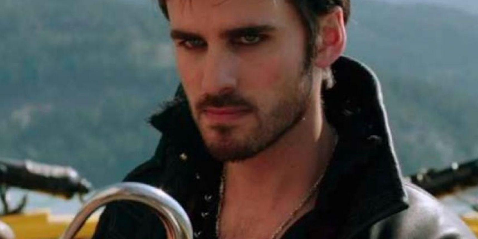 """El Capitán Garfio, interpretado por Colin O' Donoghue en """"Once Upon a Time"""" Foto:ABC"""