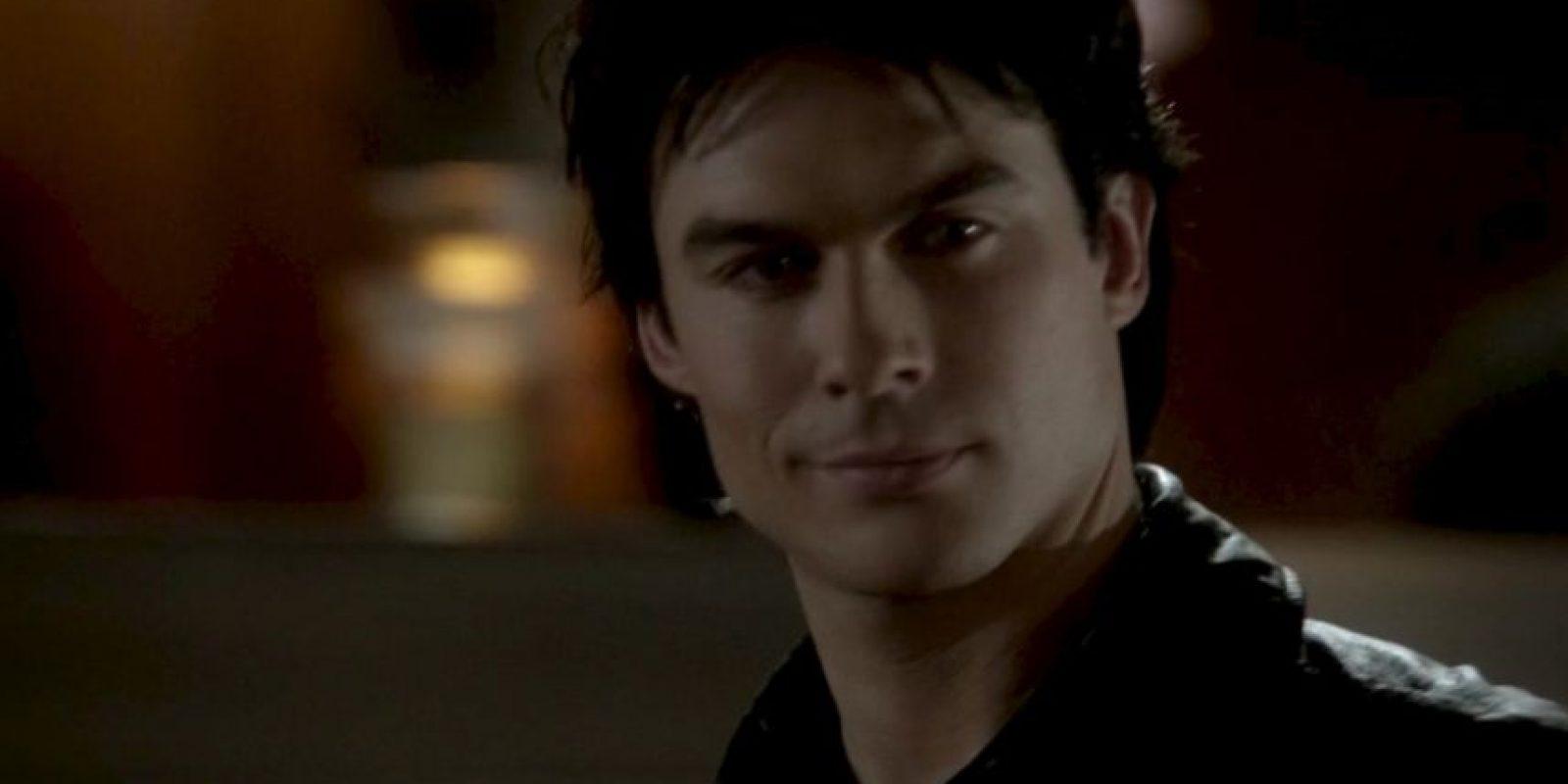 "Damon Salvatore, interpretado por Ian Somelharder en ""The Vampire Diaries"" Foto:CW"
