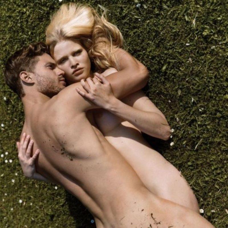 Con Lara Stone Foto:i-D Magazine